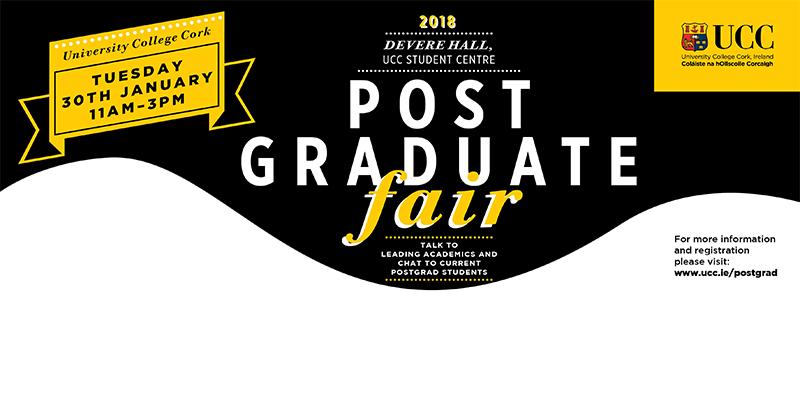 UCC Postgrad Fair 2018
