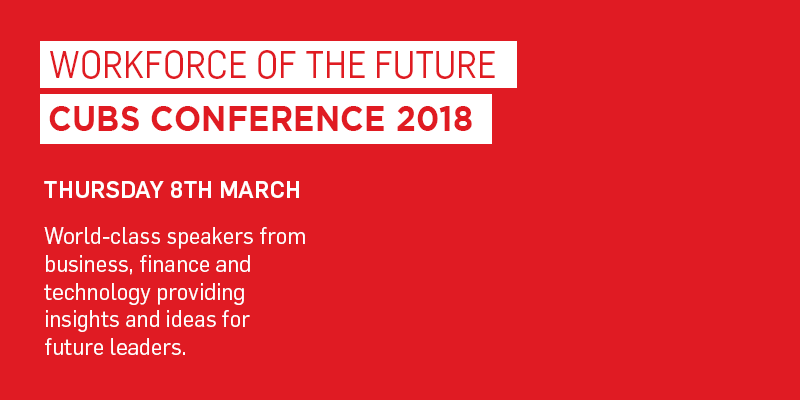 CUBS Conference - Workforce of the Future