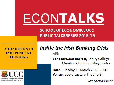 Economics Public Talks series