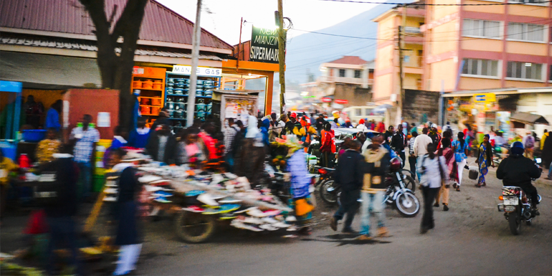 Perpetual Motion: Human Mobility and Spatial Frictions in Three African Countries