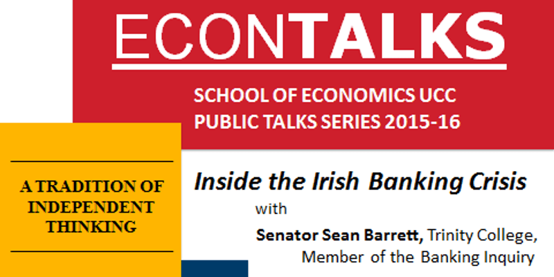 Economics Public Talks series