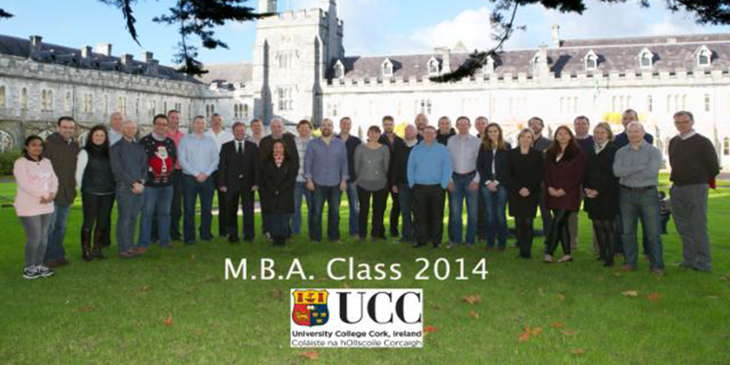 Well Done to our 2013-2014 UCC Executive MBA Class