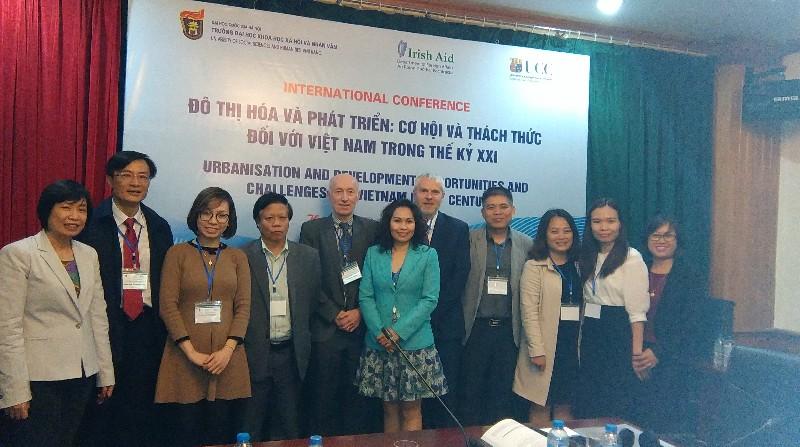 International Conference on Urbanisation and Development