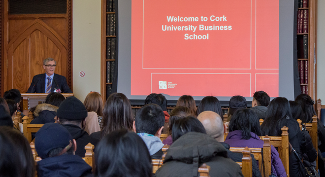 CUBS HOSTS OPEN DAY FOR INTERNATIONAL STUDENTS
