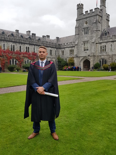 Lived Experience Key to Killian O'Keeffe's Ambition to Support People With Dyslexia