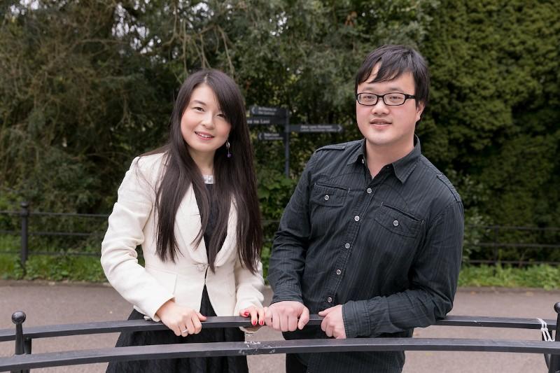 Meet The Recently Engaged PhD Power Couple Jun Gao and Sheng Zhu