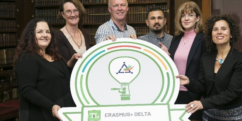 Dr Siobhán Lucey awarded the ERASMUS+DELTA Scholarship