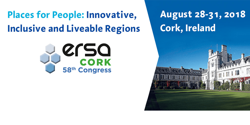 Call for Abstracts: UCC to host European Regional Science Congress in 2018