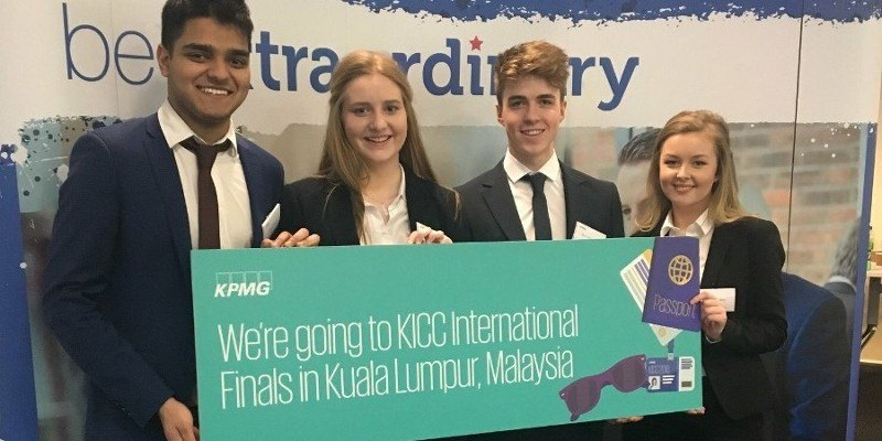 BSc Finance students set for world stage