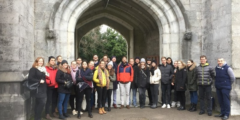Students from MCI Management Center in Austria visit UCC