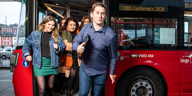 Ryanair, Vodafone and The Young Offenders to feature at CUBS Conference 2020, UCC