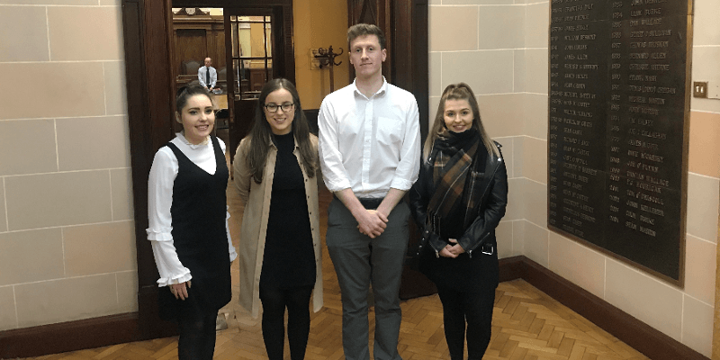 MSc Students Doing Applied Research for Cork City Council