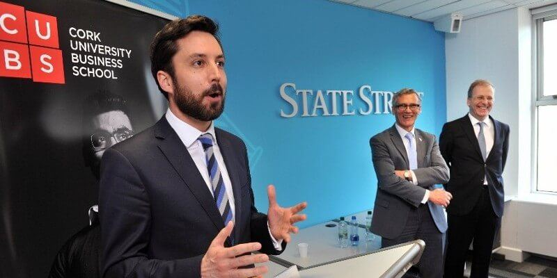 Official Opening of State Street Advanced Technology Centre by Minister Eoghan Murphy T.D.