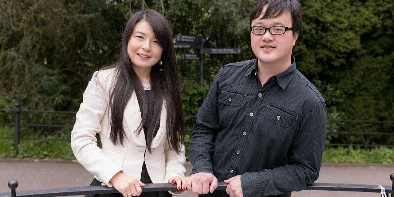 Meet The Recently Engaged PhD Power Couple Jun Gao and Sheng Zhu