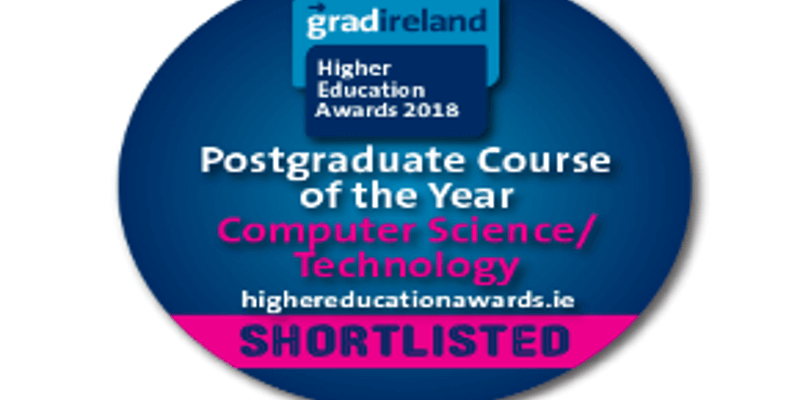 MSc ISBP shortlisted for gradireland Higher Education Awards 2018