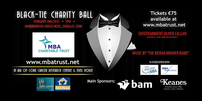 Details of the MBA Charity Ball 2015