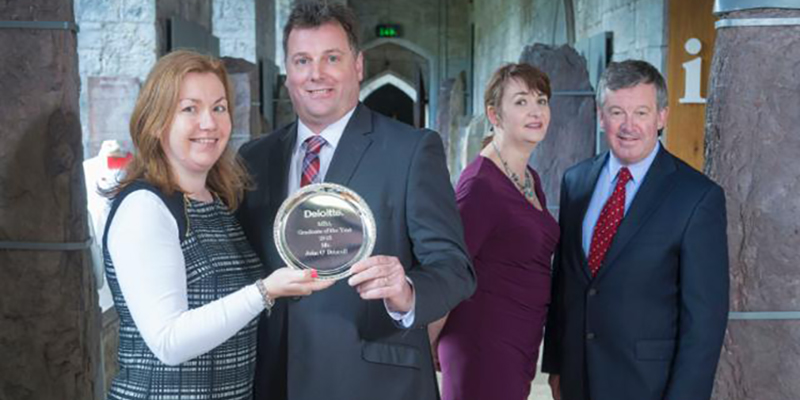 Deloitte UCC Executive MBA Graduate of the Year 2015